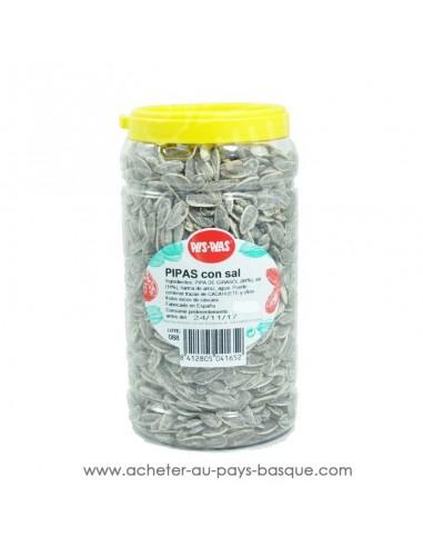 Pipas salées Plis Plas - conserve epicerie produits espagnols - graine tournesol apéritif