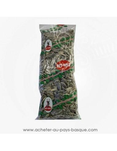 Pipas salées sachet Plis Plas - conserve epicerie produits espagnols - graine tournesol apéritif basque