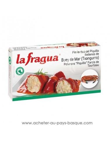 poivron farcis au crabe la fragua - aperitif conserve espagnole - epicerie produits espagnols - livraison a domicile