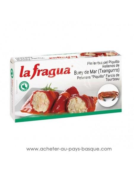 Conserve Poivrons Piquillos farcis au crabe La Fragua