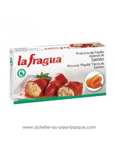 poivron farci au saumon la fragua - aperitif conserve espagnole - epicerie produits espagnols - livraison a domicile