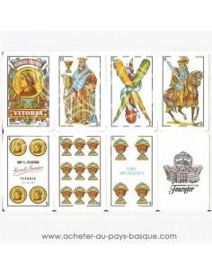 Cartes de Mus jeux basque espagnol - loisirs jeux traditionnel - disponible en livraison