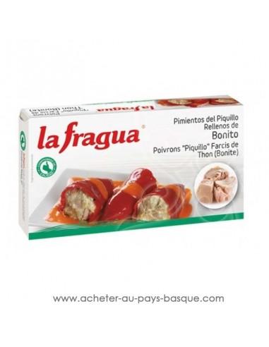 poivron farci au thon la fragua - aperitif conserve espagnole - epicerie produits espagnols - livraison a domicile