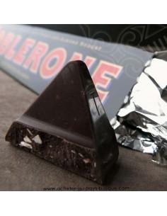Tablette Toblerone chocolat suisse noir - epicerie sucré confiserie - livraison course à domicile bayonne biarritz anglet