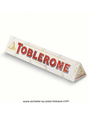Tablette Toblerone chocolat suisse blanc - epicerie sucré confiserie - livraison course à domicile bayonne biarritz anglet