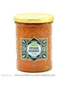 Piperade Basquaise au piment d'Espelette - les délices d'aita itxassou - epicerie fine - plat cuisiné conserve basque