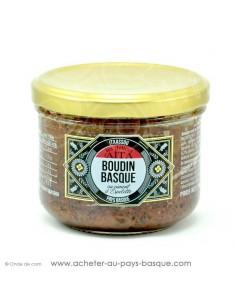 Boudin Basque au piment d'Espelette - les délices d'aita itxassou - epicerie fine - plat cuisiné conserve basque