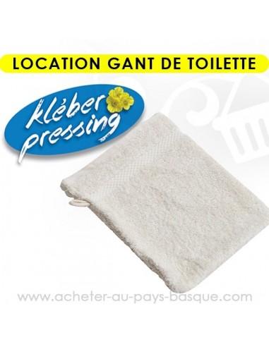 Location gant de douche - pressing kleber Biarritz lav pro