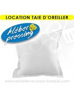 Location linge taie d'oreiller - pressing kleber Biarritz lav pro