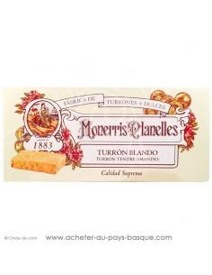 turron monerris nougat mou tendre  tourron - epicerie confiserie espagnole - livraison produit espagnol