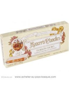 turron monerris nougat dur croquant - epicerie confiserie espagnole - livraison produit espagnol