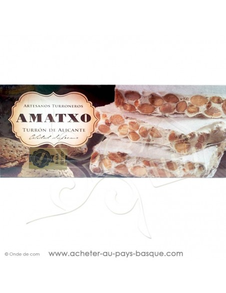 Turron amatxo alicante