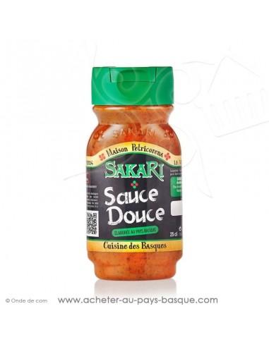 sauce basque  sans gluten - sauce sakari douce - epicerie basque - conserve recette traditionnelle basque petricorena