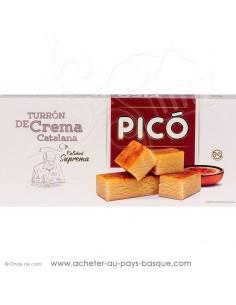 Turron crème Catalane - Pico tourron - epicerie confiserie espagnole - livraison produit espagnol