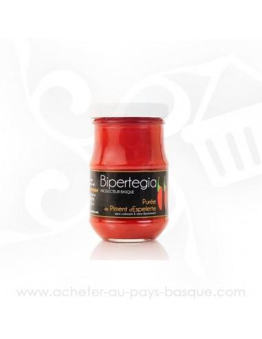 Purée de piment d'Espelette - Bipertegia producteur Basque - Espelette en vente