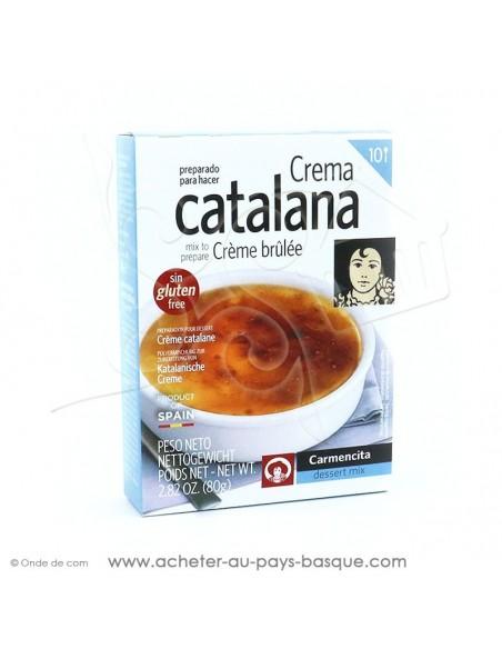 Crème brûlée Catalane - Carmencita