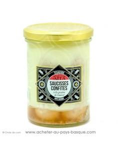 Acheter coffret cadeau gourmand Basque déguster repas : axoa, haricots, saucisse confite, soupe de poissons, confit de porc