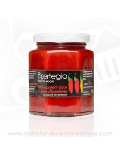 Délice de piment doux au piment d'Espelette en vente sur acheter au pays basque .com