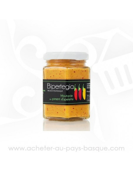 Moutarde de piment d'Espelette