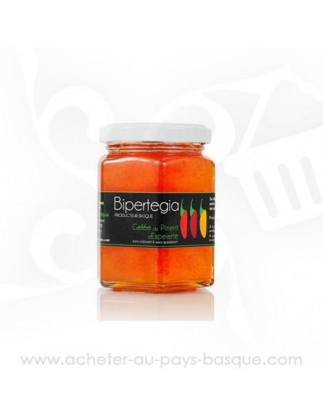 Gelée de piment d'Espelette - Bipertegia producteur Basque - Espelette en vente sur acheter au pays basque .com