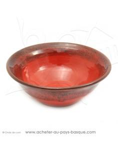 Saladier Corbeille en céramique pour des salades individuelles - Terre Cuite - Jean de la Terre