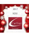 Menu fêtes réveillon noël - livraison Plat à emporter Carlier Traiteur Halles de Biarritz