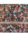 Tissu Italien Haute Couture Ungaro Mousseline UNGARO tissée de plumetis or Habillement Docks Biarritz en vente