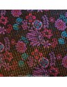 Tissu Haute Couture Ungaro Mousseline UNGARO tissée de plumetis or Habillement Docks Biarritz en vente