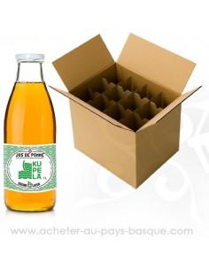 Carton Kupela jus de pomme - cidre brut traditionnel doux - livraison a domicile bayonne biarritz