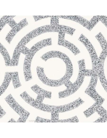 Labirinto gris fond crème - THEVENON ETE 2018