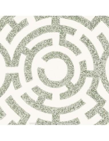 Labyrinthe vert : Thevenon effet Graphique : jardin parfait pour se perdre : rideaux Tissus Ameublement - vente en ligne