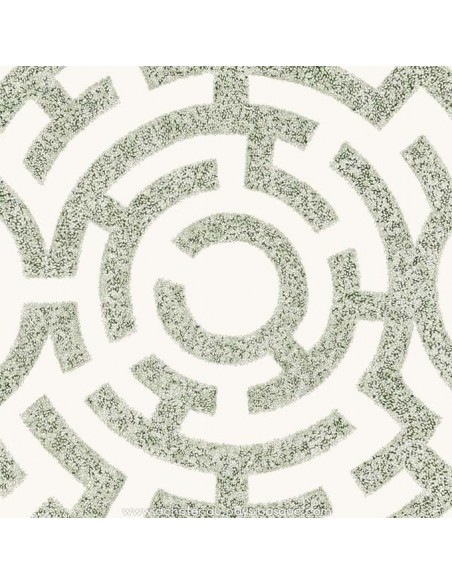 Labirinto vert fond crème - THEVENON ETE 2018