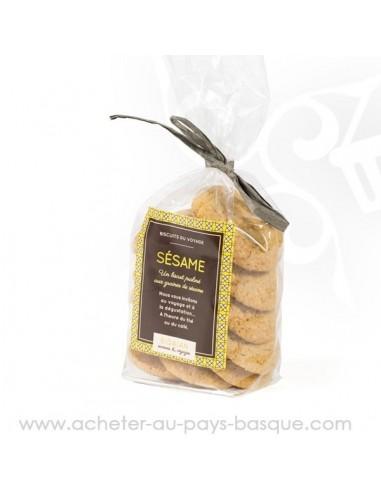 Acheter Biscuits marocains praliné sésame - bidaian bayonne - produits marocaines - épicerie saveurs du monde - vente en ligne