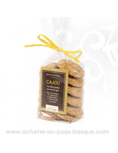 Acheter Biscuits marocains praliné cajou - bidaian bayonne - patisserie marocaine - épicerie saveurs du monde - vente en ligne