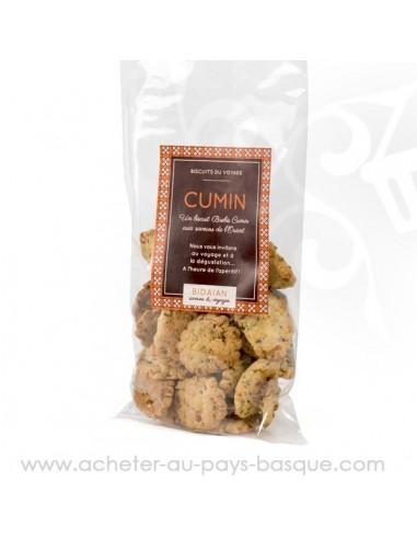 Acheter Biscuits marocains au cumin pour vos apéros - bidaian bayonne - épicerie saveurs du monde - vente en ligne