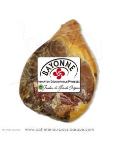 Jambon de Bayonne entier désossé sous vide 12 mois IGP - charcuterie basque