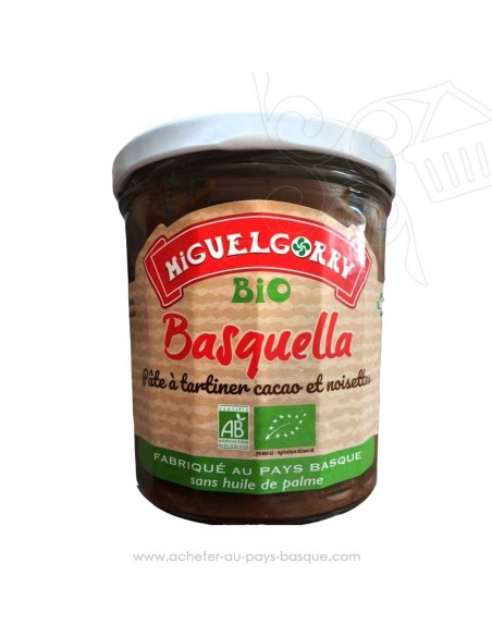 Basquella pâte à tartiner Basque 300g Bio