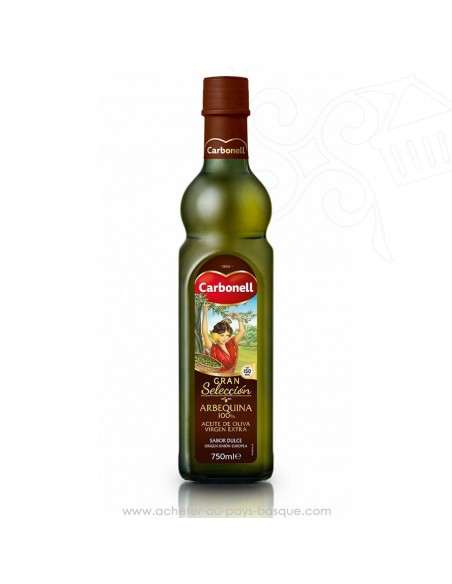 Huile d'olive espagnole extra Carbonell 75 cl