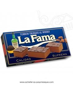 Turron LA FAMA truffe au whisky nougat mou - epicerie confiserie espagnole - noel - produit espagnol