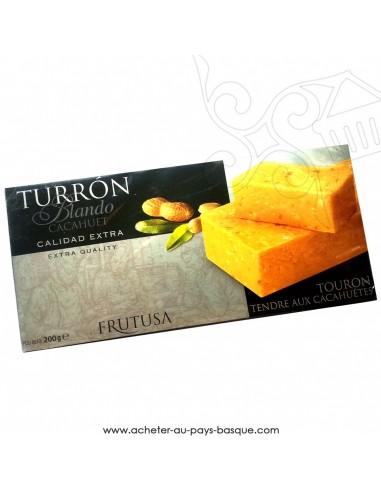 Turron Frutusa tendre cacahuetes - epicerie confiserie espagnole - produit espagnol - noel