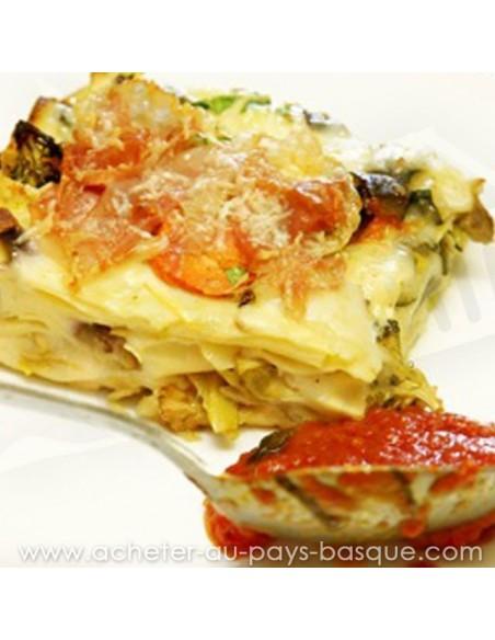 Lasagne Jambon Légumes