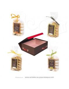 Achetez et offrez ce coffret cadeau douceurs d'Orient biscuits marocains  Bidaian - épicerie saveurs du monde oriental
