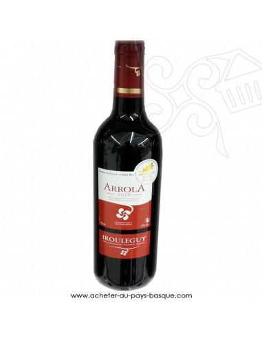 Vin Irouléguy Arrola 2017 rouge