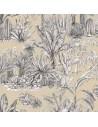 Heaven fond ficelle - THEVENON  Collection Automne Hiver 2018 Tissus Ameublement - vente en ligne - biarritz