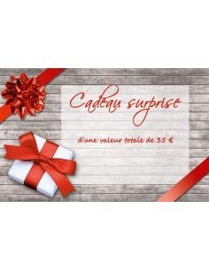 Cadeau Surprise d'une valeur totale de 35 €
