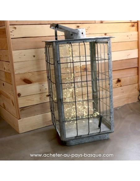 Grande lanterne Slade Zinc Nickel