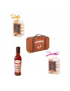 """Achetez et offrez ce coffret cadeau""""mon amie la rose"""" Bidaian : Sirop de rose et biscuits épicerie saveurs du monde"""