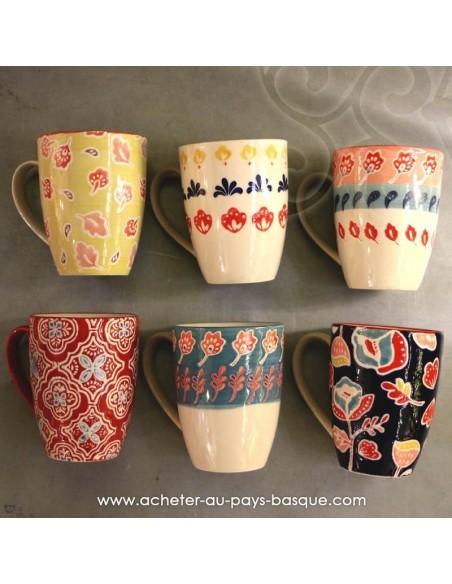 Mugs peints à la main