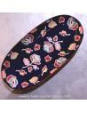 plats peints à la main : marine - boutique décoration - Pas Sage Biarritz