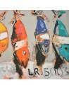 Collection Patrick Plattier : Les Thons - Tissus Ameublement - Tissus des Docks de la Negresse - Biarritz